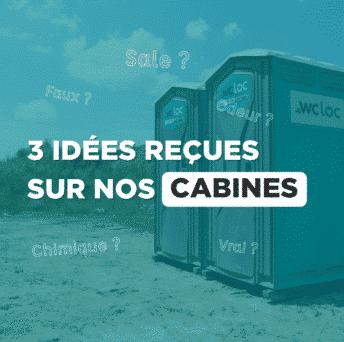 3 idées reçues sur les cabines WC